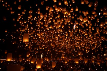 Moon Lantern Festival. Photo supplied