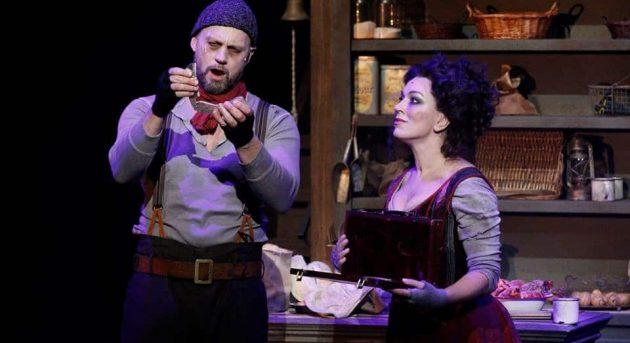 Sweeney Todd. Teddy Tahu Rhodes & Antoinette Halloran