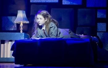Bella Thomas as Matilda. Photo by James Morgan.