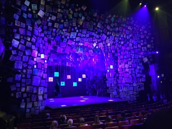 The set of Matilda the Musical in Sydney.
