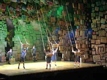 """When I Grow Up"" performed at the media call of Matilda the Musical in Sydney."