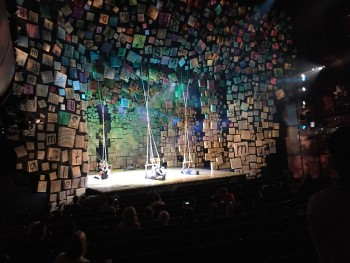Matilda the Musical sneak peek at a Sydney media call.