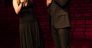 Lucy Durack & Josh Piterman performed at the ATG Theatre Royal announcemet