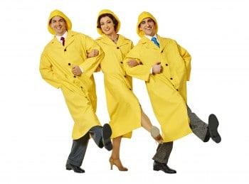 The new leading trio of Singin' in the Rain. Photo by Brian Geach.