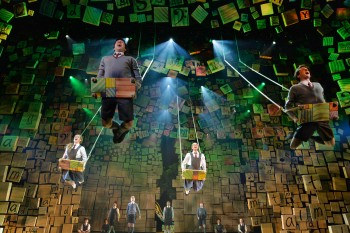 The cast of Matilda. Photo by James Morgan.