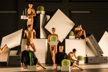 Sydney Dance Company perform Cacti. Photo by Peter Greig.