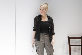 Susie Porter in Death and the Maiden. Photo by Jeff Busby.