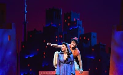 Disney Theatrical Productions presents Aladdin, the new musical. Image by Deen Van Meer