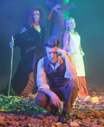 Into The Woods - Rhonda Burchmore, Eddie Perfect and Rachael Beck star in Harvest Rain's production