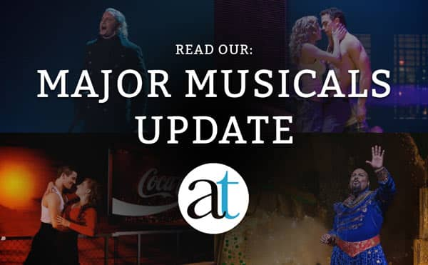 Major Musicals Update