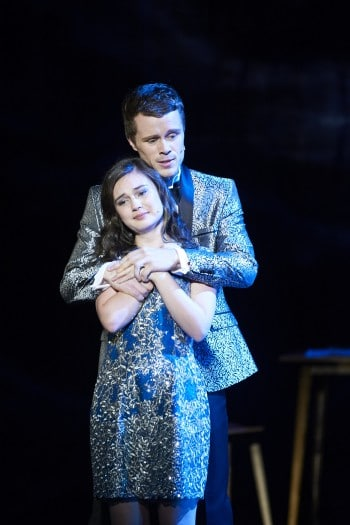Shannen Alyce, Joel Horwood. Next to Normal. Image by Gary Marsh