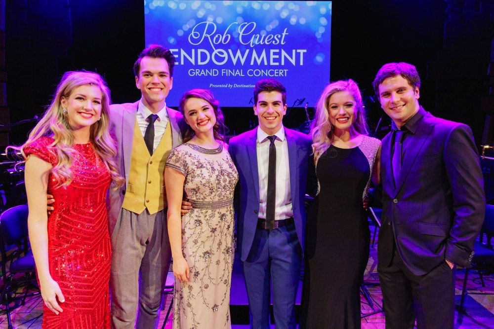 The six finalists at the Rob Guest Endowment Gala, 2015. Image by Robert Catto