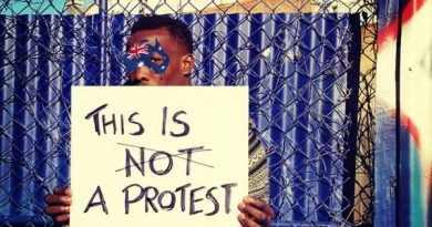 This is Not a Protest. Big West Festival