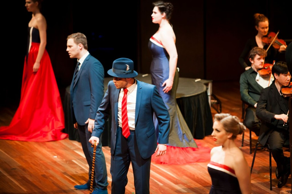 Victorian Opera 2015 - Seven Deadly Sins. Photo by Charlie Kinross