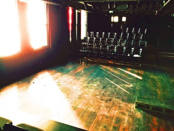 The theatre, KXT, will seat from 75 - 90 audience members.