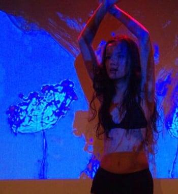 Merlynn Tong in Ma Ma Ma Mad. Photo by Shane Pike.