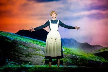 Amy Lehpamer as Maria in The Sound of Music. Photo by James Morgan.