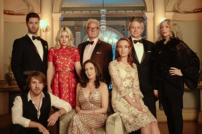 The lead cast of ABC and Opera Australia's The Divorce