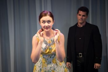 Bobbie-Jean Henning and Martin Crewes in The Fantasticks. Photo by Marnya Rothe