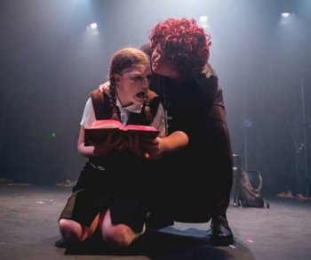 Sophie Perkins and Jacqui Devereux in Carrie The Musical. Photography by Joel Devereux.