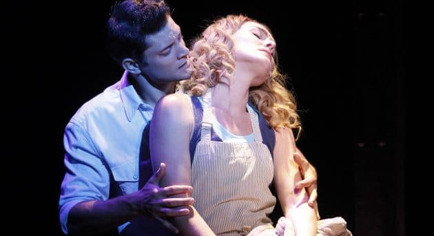 Ghost the musical. Photo by Jeff Busby