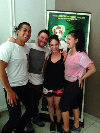 Angelique Cassimatis, Dash Kruck and Josie Lane- Little Shop of Horrors - with Chris Fung