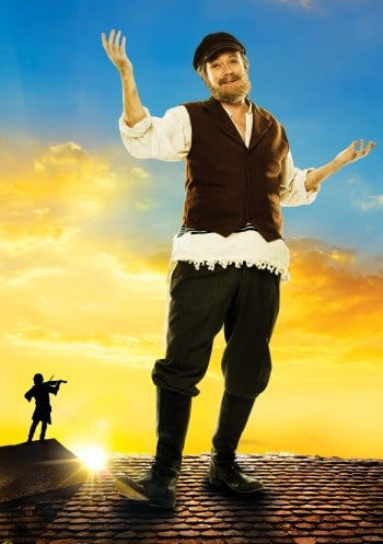 Anthony Warlow stars in Fiddler on the Roof.