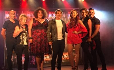 The Principal Cast of We Will Rock You