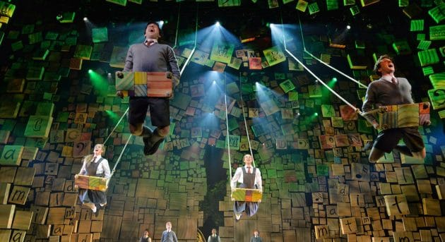 When I Grow Up: Australian cast of Matilda The Musical. Image by James Morgan