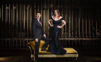 Ali McGregor and Eddie Perfect - co-artistic directors of the Adelaide Cabaret Festival. Image by Claude Raschella