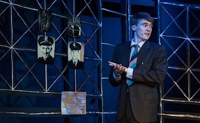 The Detective's Handbook at Hayes Theatre Co. Image by Clare Hawley