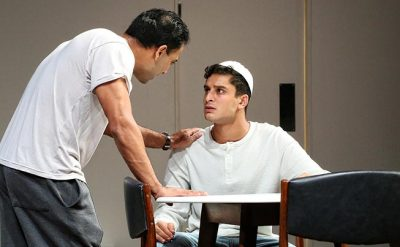 Sachin Joab and Shiv Palekar in Disgraced. Photo by Prudence Upton.