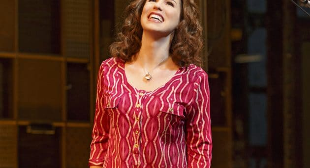 Chilina Kennedy as Carole King on Broadway - Photo Credit: Joan Marcus