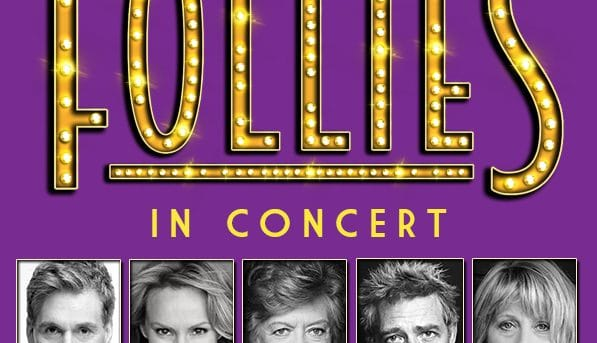 Follies In Concert with cast headshots
