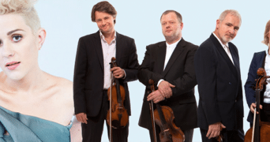 Katie Noonan & Brodsky Quartet - With Love and Fury. Image Supplied.