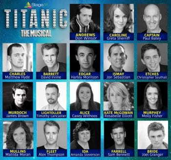 StageArts Titanic The Musical square