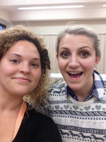 Kaleigh with Annaleigh Ashford