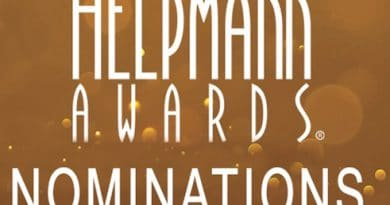 Helpmann Awards Nominations 2016