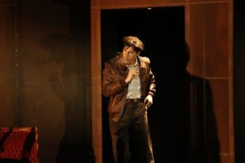 Lachlan Woods in Double Indemnity for MTC. Image by Jeff Busby