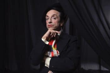 Resident Alien - Paul Capsis as Quentin Crisp