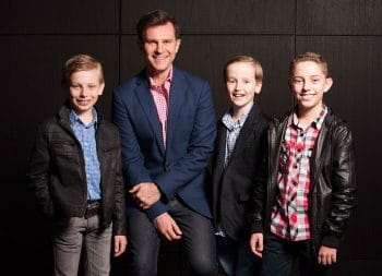 Bobby Darins - Kyle Banfield, David Campbell, Nicholas Cradock and Brendan-Godwin. Images by Brian Geach