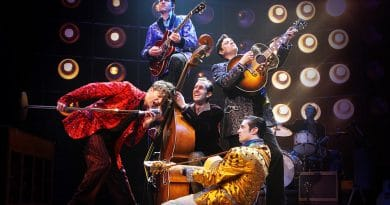 The US Cast of Million Dollar Quartet