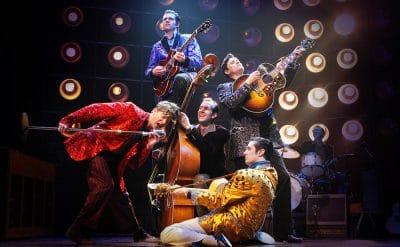 The US Cast of Million Dollar Quartet