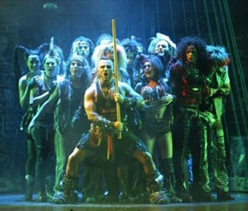 We Will Rock You. Image Jeff Busby.