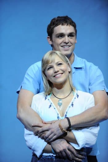 David Sommerville and Suzie Mathers in the 10th anniversary Australian tour of Mamma Mia!