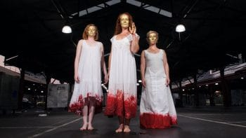 Julius Caesar - Melbourne Fringe 2016. Image supplied