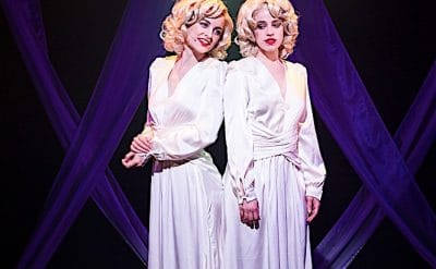 Laura Bunting and Kerrie Anne Greenland in Side Show. Image by Kurt Sneddon
