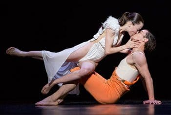 Emilie Lalande and Redi Shtylla as Snow White and the Prince. Photography by Yang Wang.