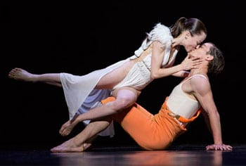 Emilie Lalande and Redi Shtylla as Snow White and the Prince. Photography by Wang.