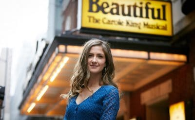 Home grown and beautiful: Esther Hannaford to play Carole King in new musical